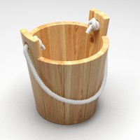 small wooden bucket max free