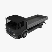mercedes-benz atego dump truck max
