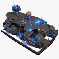 3d tank transporter