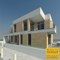 detached house 3d model