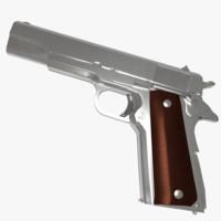 pistol m 1911 3d x
