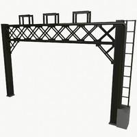 railway arch 3d model