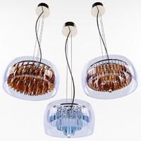 ideal lux chandelier 3d model