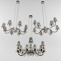 3d model ideal lux chandelier