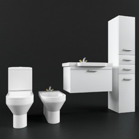 duravit bathroom 3d model