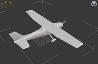 cessna - 5x skin 3d model