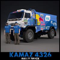 Kamaz 4326 Dakar