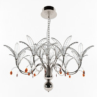 dolcevita chandelier chrome 3d 3ds