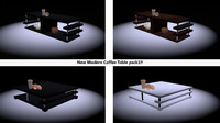 New Modern Coffee Table Pack1