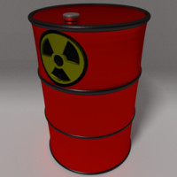 free barrel dangerous 3d model