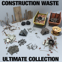 3d construction debris