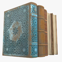old books 3d ma