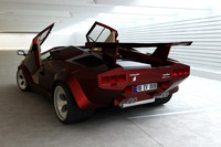 3d model of lamborghini countach sport