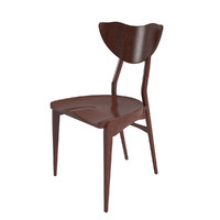 3d mahogany dining chair christensen