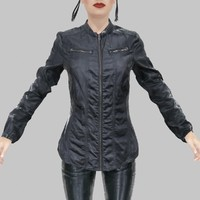 leather shirt 3d model
