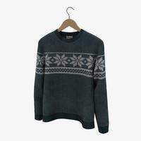 sweater hanger 3d max