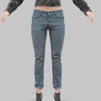 x jeans blue pants
