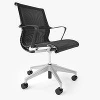 3d herman miller setu office chair