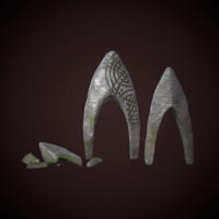 fantasy rune stones 3d x