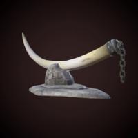 idol horn 3d fbx