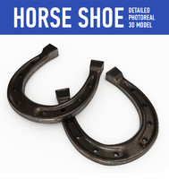 horse shoes 3d 3ds