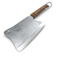 3d kitchen hatchet