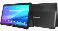 3d realistic samsung galaxy view model