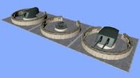 c4d gun emplacement