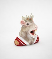 rat rattus king 3d max