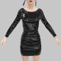 black dress x