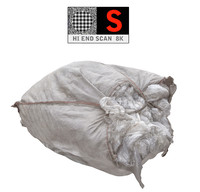 large bags garbages 8k obj