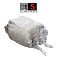 large bags garbages 8k 3d obj