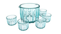Ice Bucket Glass