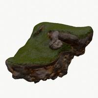 3d floating wild island model