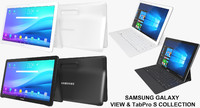 realistic samsung galaxy view 3d 3ds