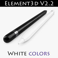v2 2 apple pencil 3d model
