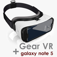 samsung note 5 gear 3d max
