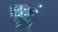robot medical 3d model