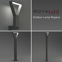 3d outdoor lighting lamp royalux