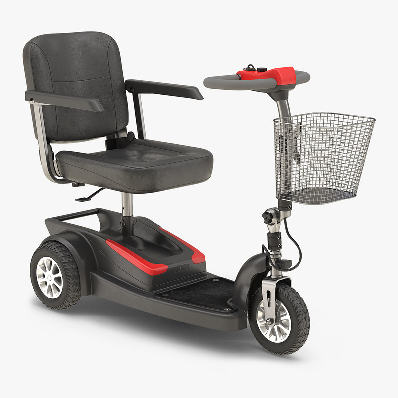 Electric Wheelchair 3d model 00.jpg