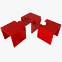 nesting table 3D models