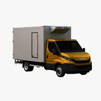 3d iveco daily 2016 box