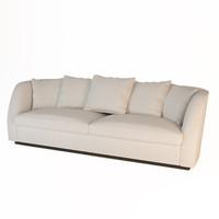 3d model eichholtz sofa les palmiers