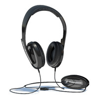 sennheiser hd 202 headphones 3d model