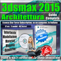 3ds max 2015 Architettura Guida Completa Locked Subscription, un Computer.