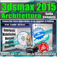 3ds max 2015 Architettura Guida Completa Locked Subscription, un Computer.