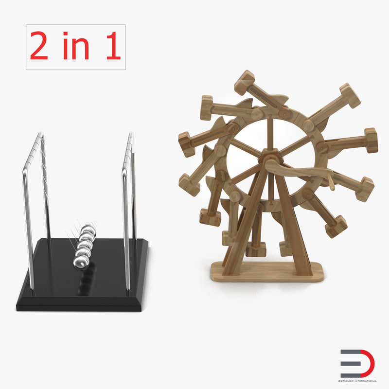 Perpetual Motion Machines Collection 3d models 00.jpg