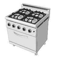 3d gas ranges