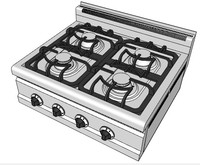 3d gas boiling tops 8070 model