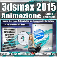 3ds max 2015 Animazione Guida Completa Subscription 2 Computer